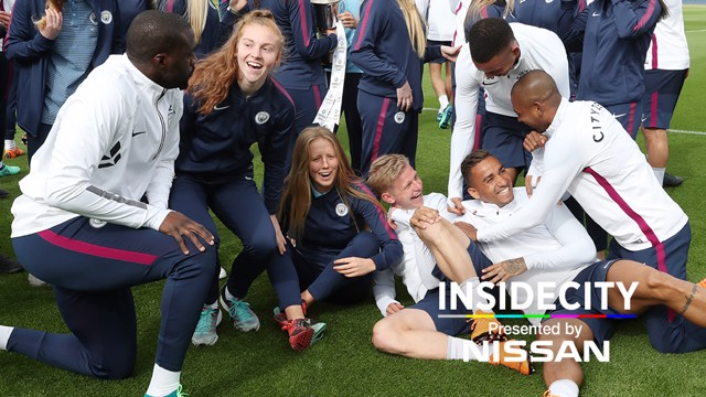INSIDE CITY: The week behind-the-scenes at the City Football Academy...