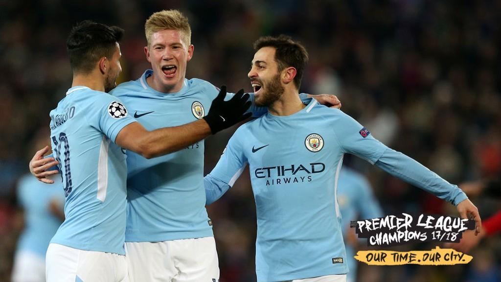 CAMPEONES. El City conquistó la Premier League 2017/2018.