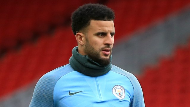 FOCUSED: Kyle Walker looks ahead to City's trip to Liverpool