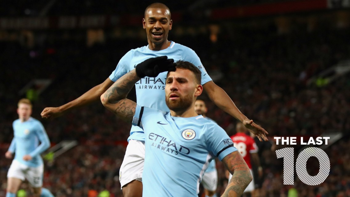 TOP TEN: City's last ten goals against United