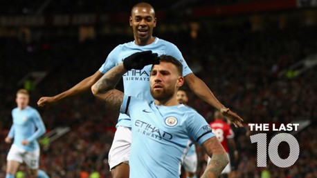 TOP TEN: City's last ten goals against United