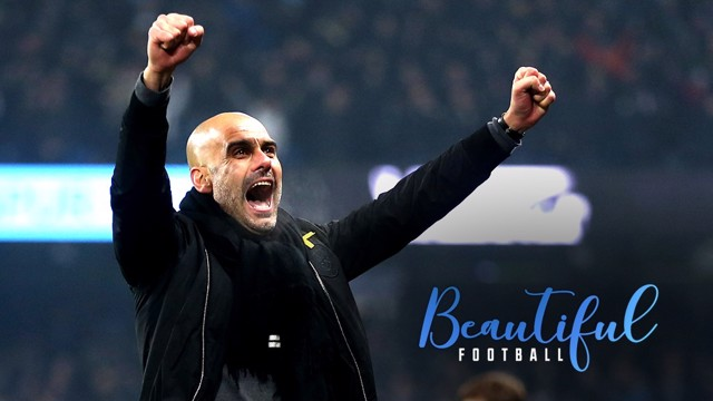 CHAMPIONS: City boss Pep Guardiola explains his approach to the game
