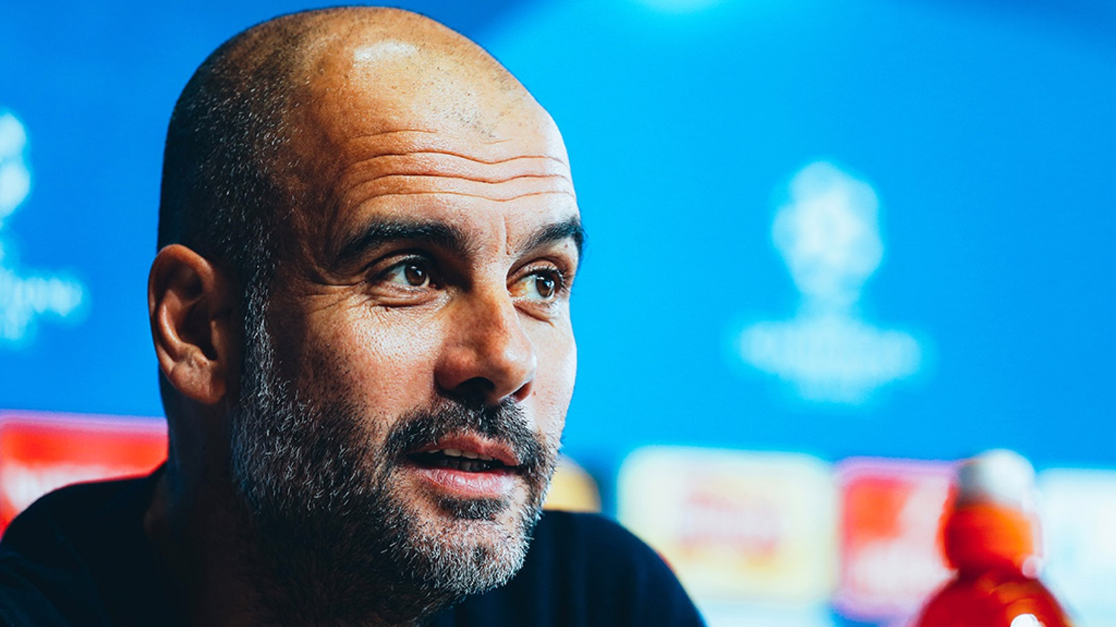 "PEP TALK: The boss believes City will have to produce a ""perfect"" display against Liverpool on Tuesday"