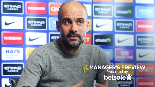 PREVIEW: Pep Guardiola's pre-West Ham press conference.