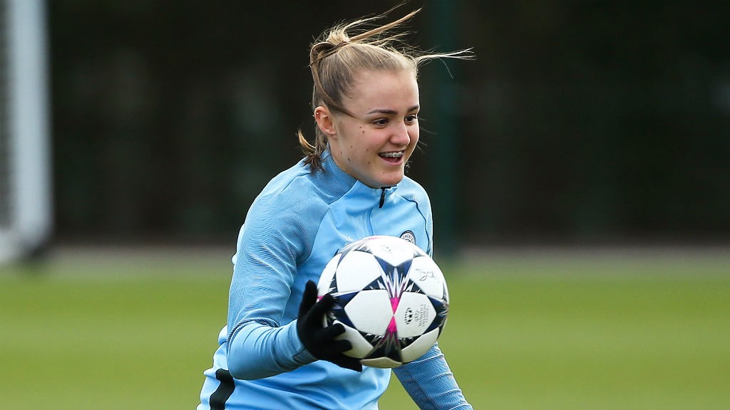 Image result for georgia stanway man city 2018 fa fawsl