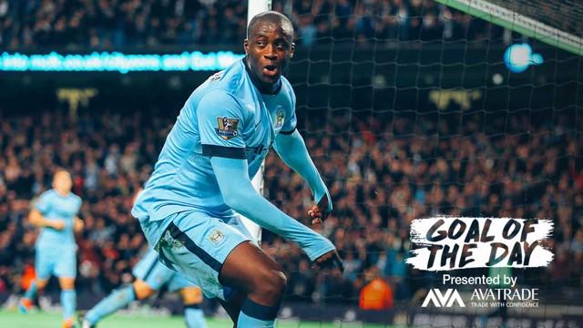 GOTD: Yaya Toure v Swansea.