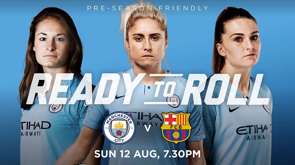 Friendly  Man City Women v Barcelona - Manchester City FC b6892bca4