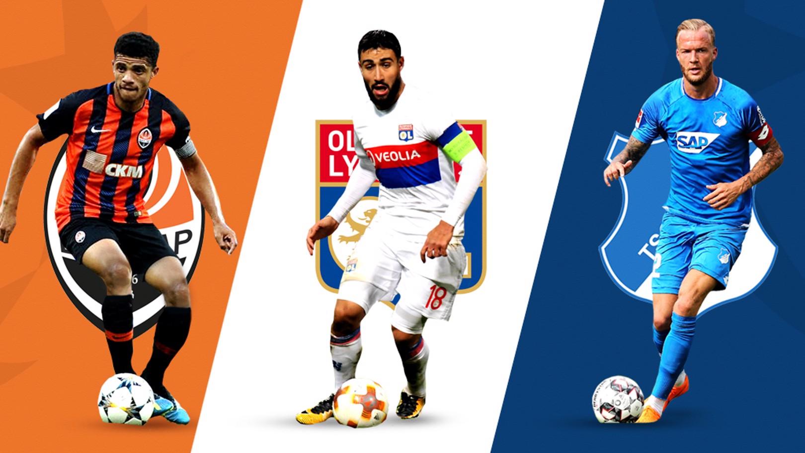 Los rivales del City en la Liga de Campeones.