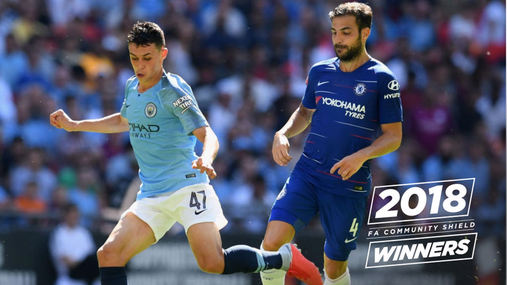 YOUNG GUN: Phil Foden produced a fine individual display as Manchester City beat Chelsea 2-0 to win the Community Shield