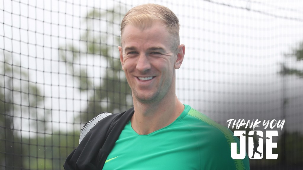THANK YOU JOE Joe Hart reflects on his 12-year career with City