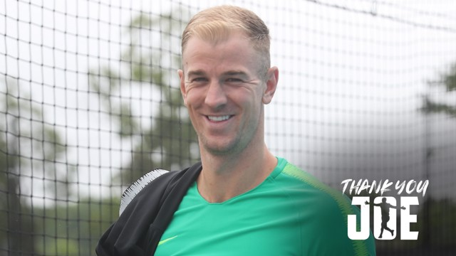 THANK YOU, JOE: Joe Hart reflects on his 12-year career with City