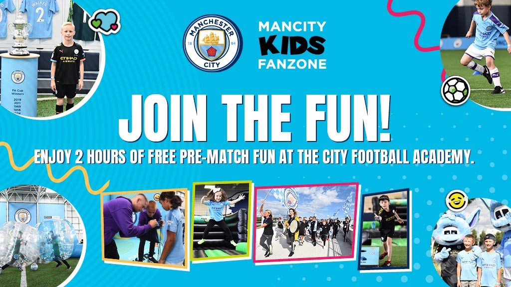Man City Kids Fanzone | Manchester City FC