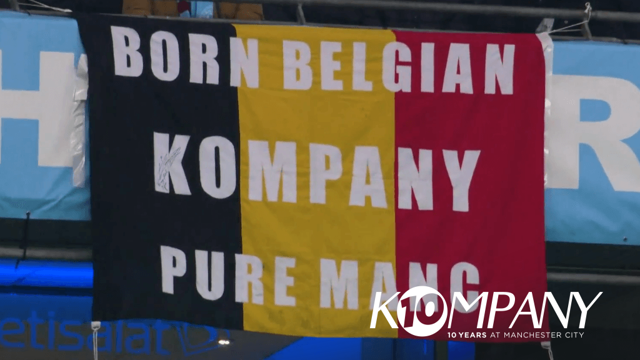 BORN BELGIAN: Celebrating ten years of Vincent Kompany at City
