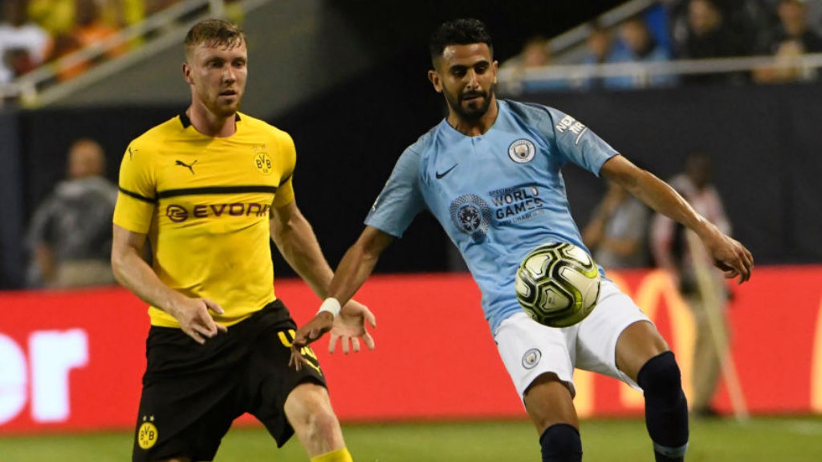 QUALITY STREET: Riyad Mahrez will offer Manchester City a host of attacking options once the 2018/19 campaign gets underway
