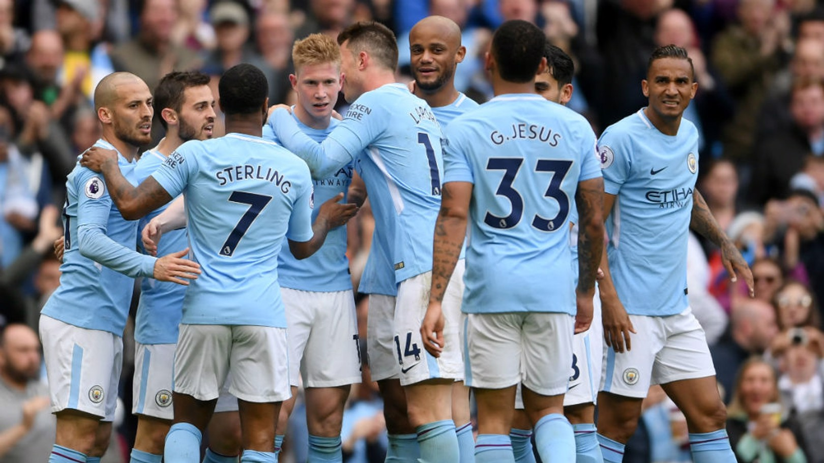 NUMBERS GAME: City's squad numbers have been submitted