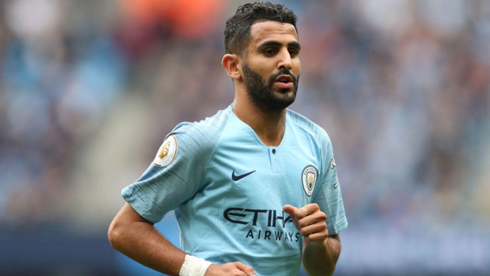 SMOOTH OPERATOR: Pep Guardiola has praised the way Riyad Mahrez has adapted to life at Manchester City