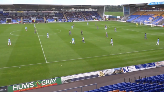 CHECKATRADE: City's youngsters took on Shrewsbury