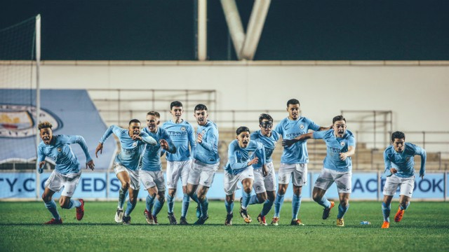 INTO THE BLUE: The Story of the 17/18 UEFA Youth League Season.