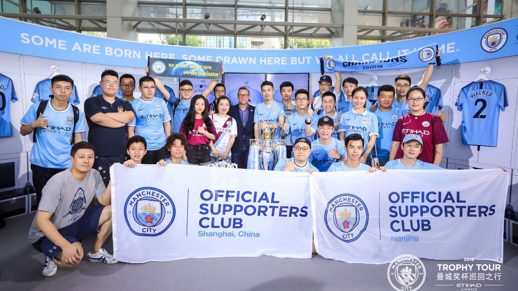 Centurions trophy tour in China