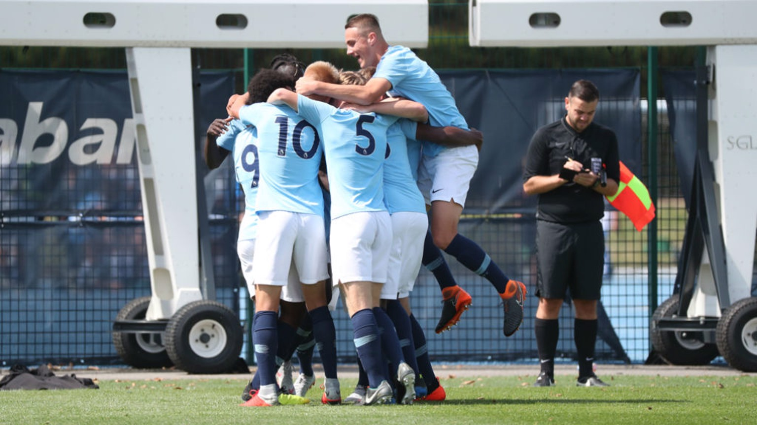 City's Under 18s fought out a 1-1 draw away at Blackburn