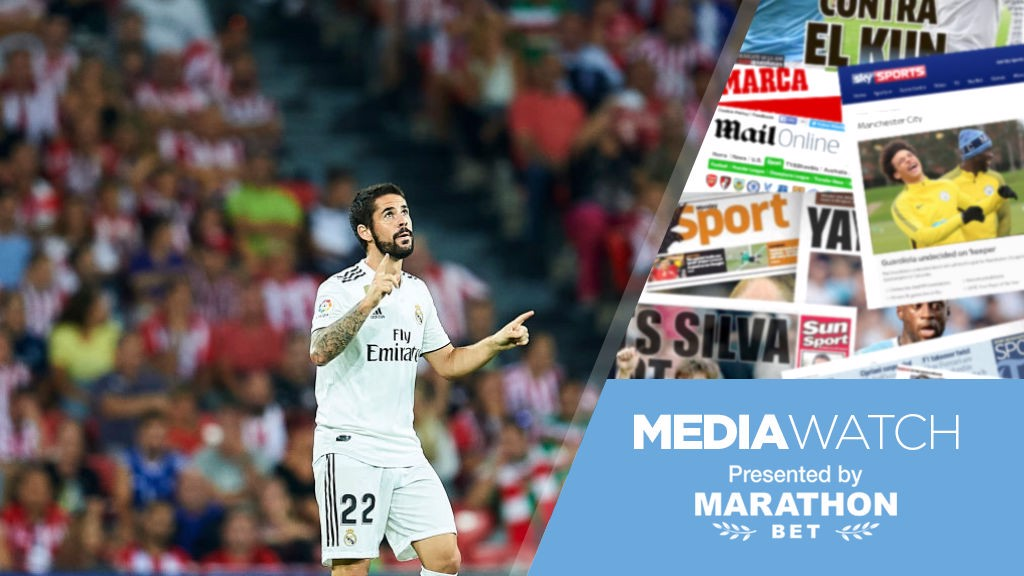 Media Watch: Isco ready to accept City deal? ​