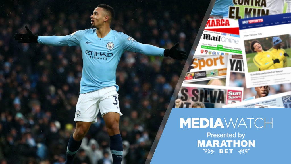 MEDIA WATCH: The press were left purring by City's display at home to Everton