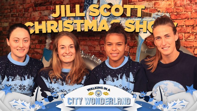CHRISTMAS: Jill Scott hosts her own chat show!