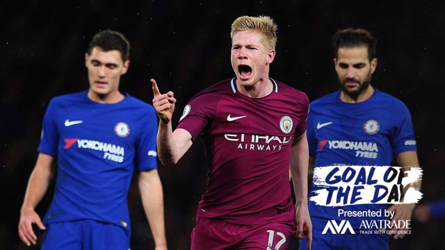 GOTD: Today's Goal of the Day was last season's thunderbolt at the Bridge from KDB
