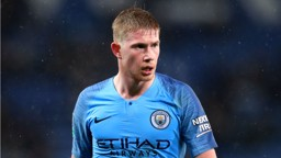 WAITING GAME: Kevin De Bruyne missed today's 3-1 Premier League win away at Southampton