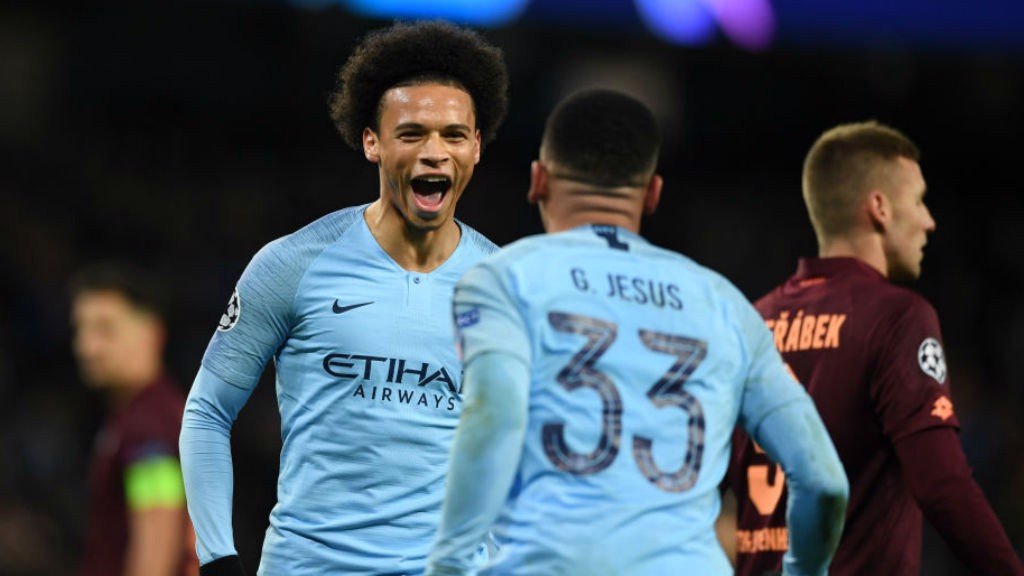 FRIENDS REUNITED:  Leroy Sane will be up against his former club Schalke in the Champions League