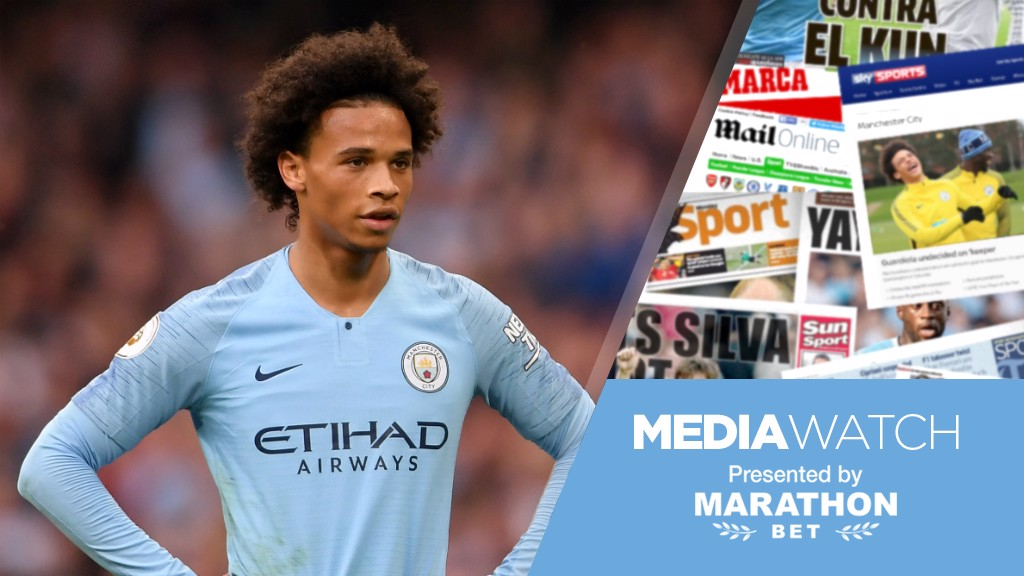 LEROY LESSONS: The German winger hopes City have learned from last weekend's 'wake up call'