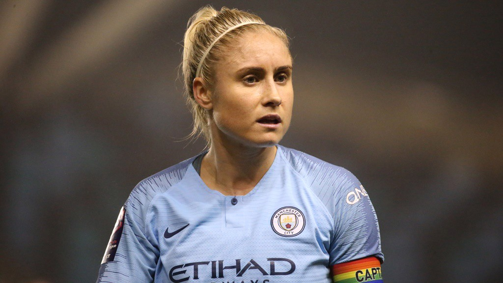 SKIPPER: Steph Houghton had little to do in defence