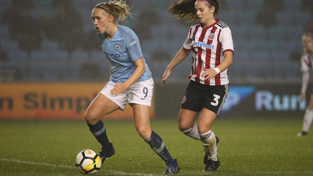 WELCOME RETURN: Pauline Bremer played the first 45 minutes