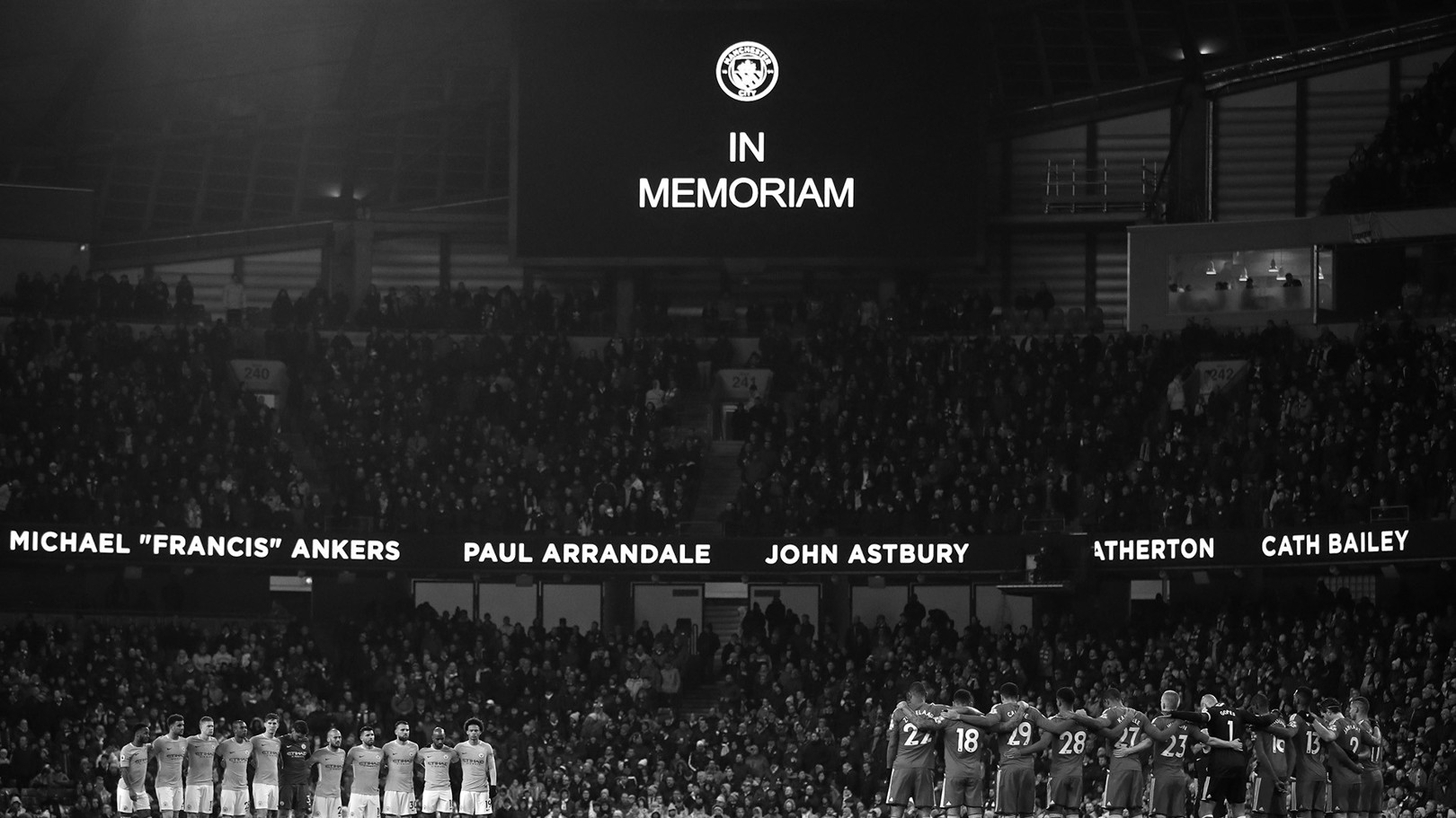MEMORIAL GAME: This year we will remmeber those connected to the Club who have passed at the game against Crystal Palace