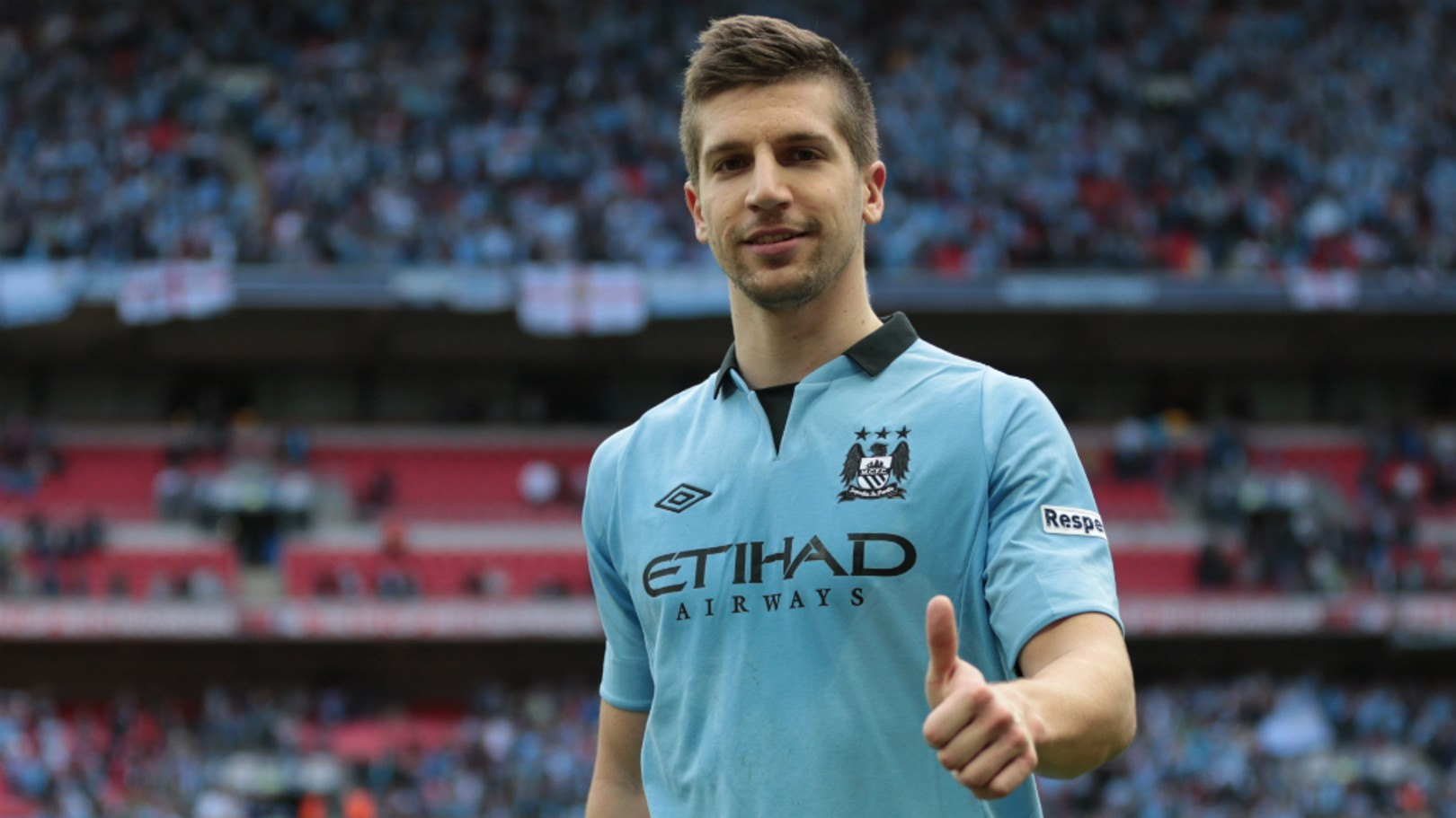 FOND MEMORIES: Matija Nastasic will face his former club when City lock horns with Schalke in the Champions League last 16