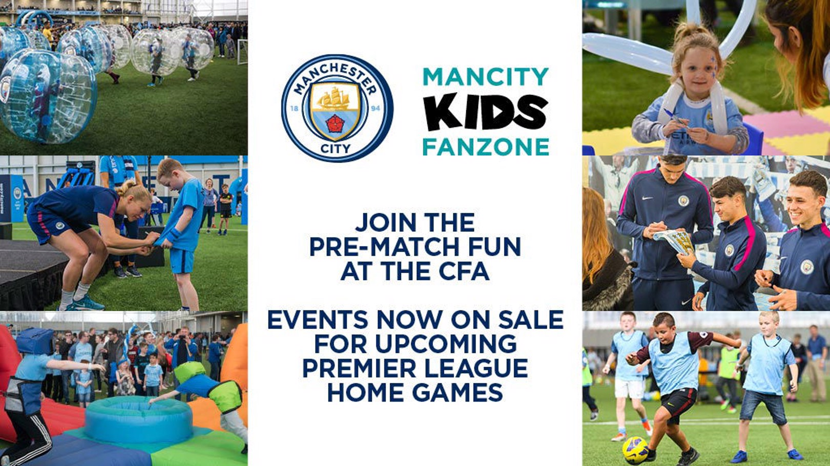 Join us at the Man City Kids Fanzone!