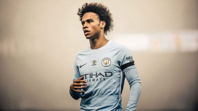 EXPRESS YOURSELF: Leroy Sane believes players should have freedom on the pitch