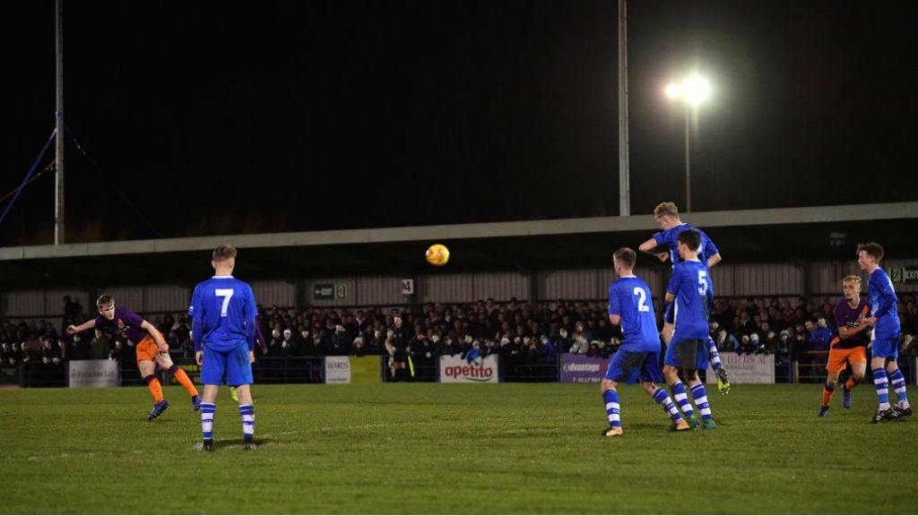 WHAT ASTRIKE: Tommy Doyle fires home his spectacular free-kick