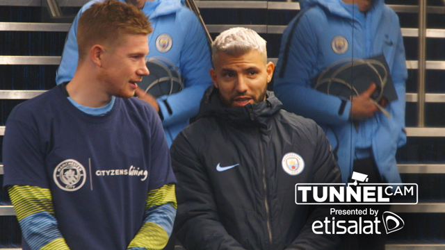 TUNNEL CAM: Go behind the scenes for a more detailed look at Saturday's win over Everton
