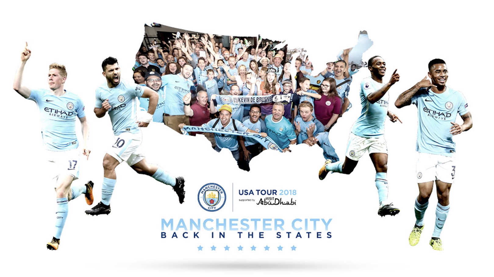 PRE-SEASON: Manchester City are heading back to the United States this summer.