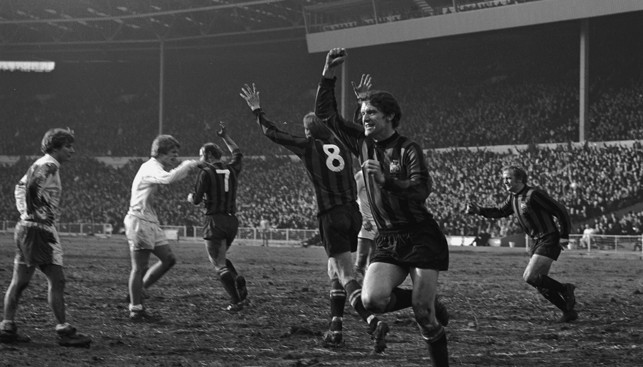 1970: Mike Doyle levels against West Brom as City go on to win 2-1