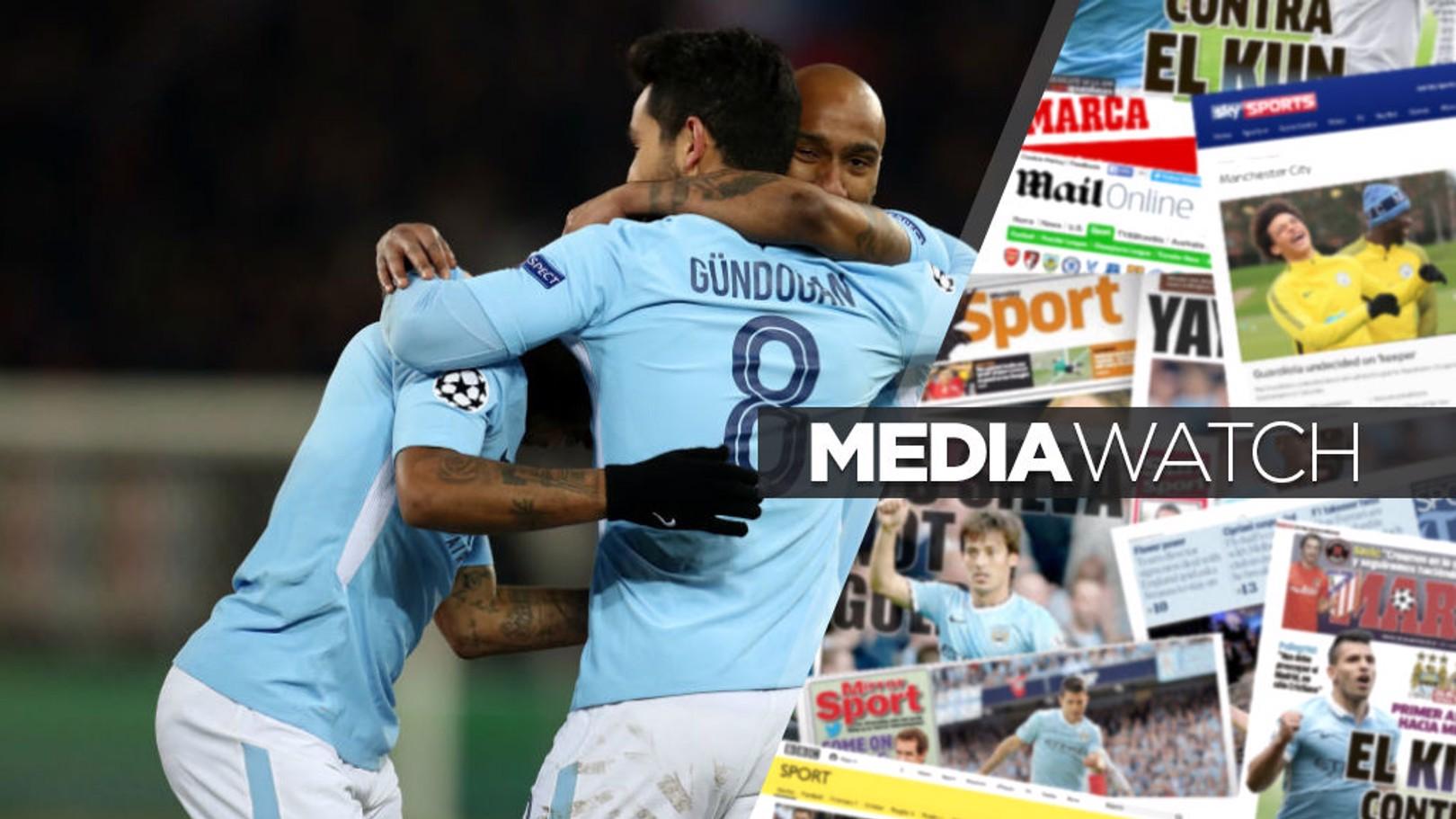 صحف ترشح مانشستر سيتي للفوز بلقب دوري أبطال أوروبا هذا الموسم.