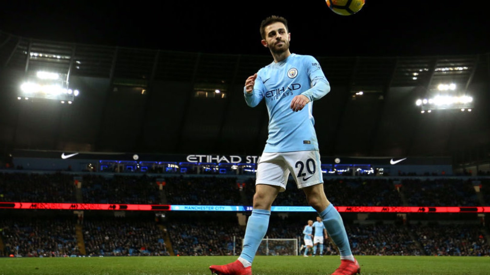 SILVA SHINES: Bernardo is pleased with his improving form