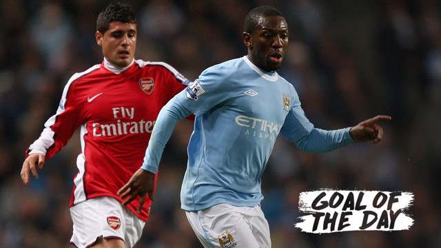 GOAL OF THE DAY: Shaun Wright-Phillips v Arsenal 2009.