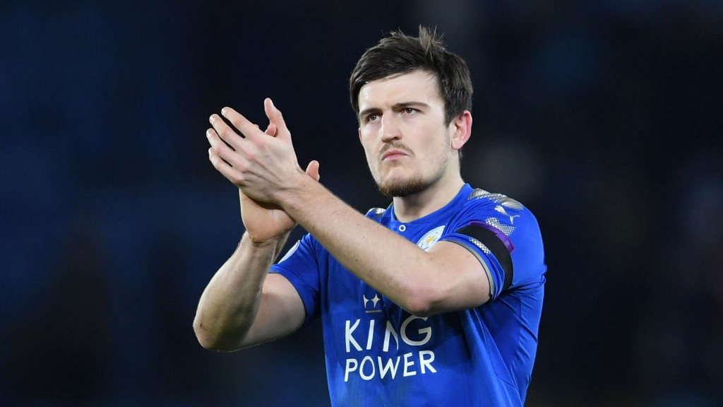 IN DEMAND: City face stiff competition in the race to sign Leicester City's Harry Maguire.