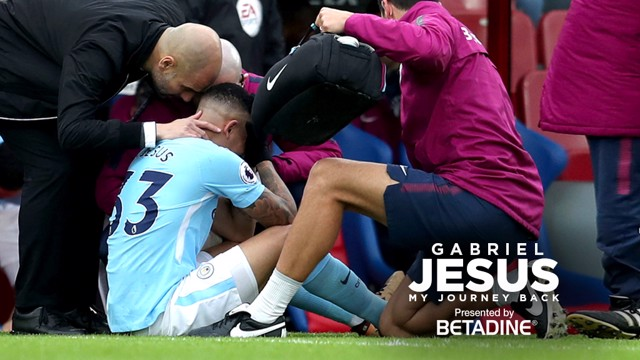 BACK IN THE GAME: Gabriel Jesus speaks exclusively to CityTV about his recovery from injury