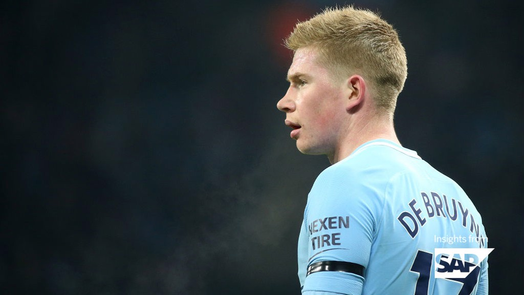 Kevin De Bruyne Stats For 201718 Manchester City Fc