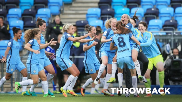 THROWBACK: City v Chelsea Ladies 2016.