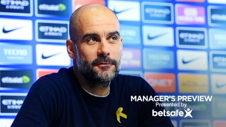 PREVIEW: Pep Guardiola addresses the media ahead of Burnley.