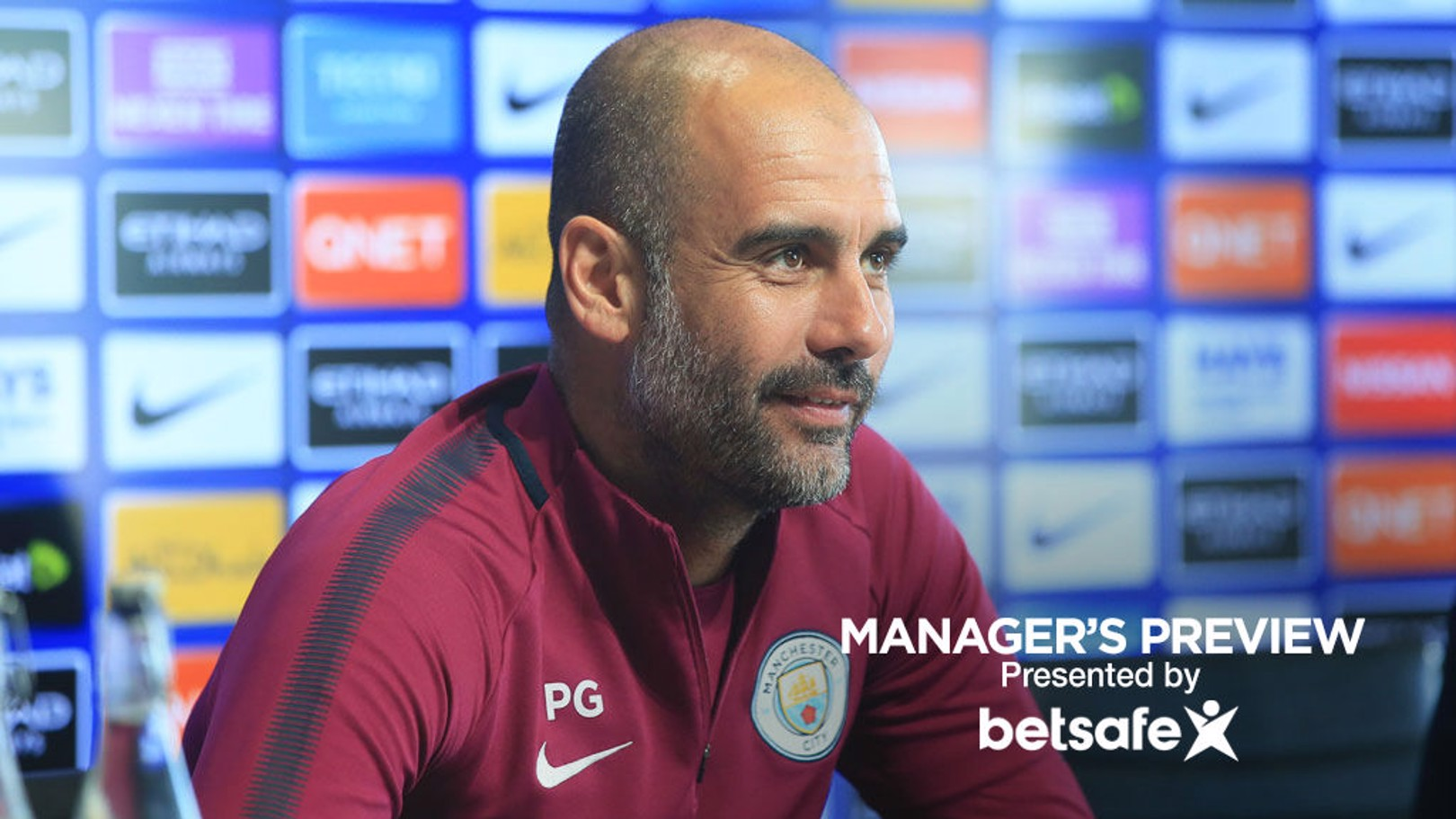PREVIEW: Pep Guardiola addresses the media ahead of the Leicester City game.